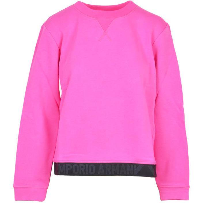 Emporio Armani Women's Sweatshirt Pink 307210 - pink 44