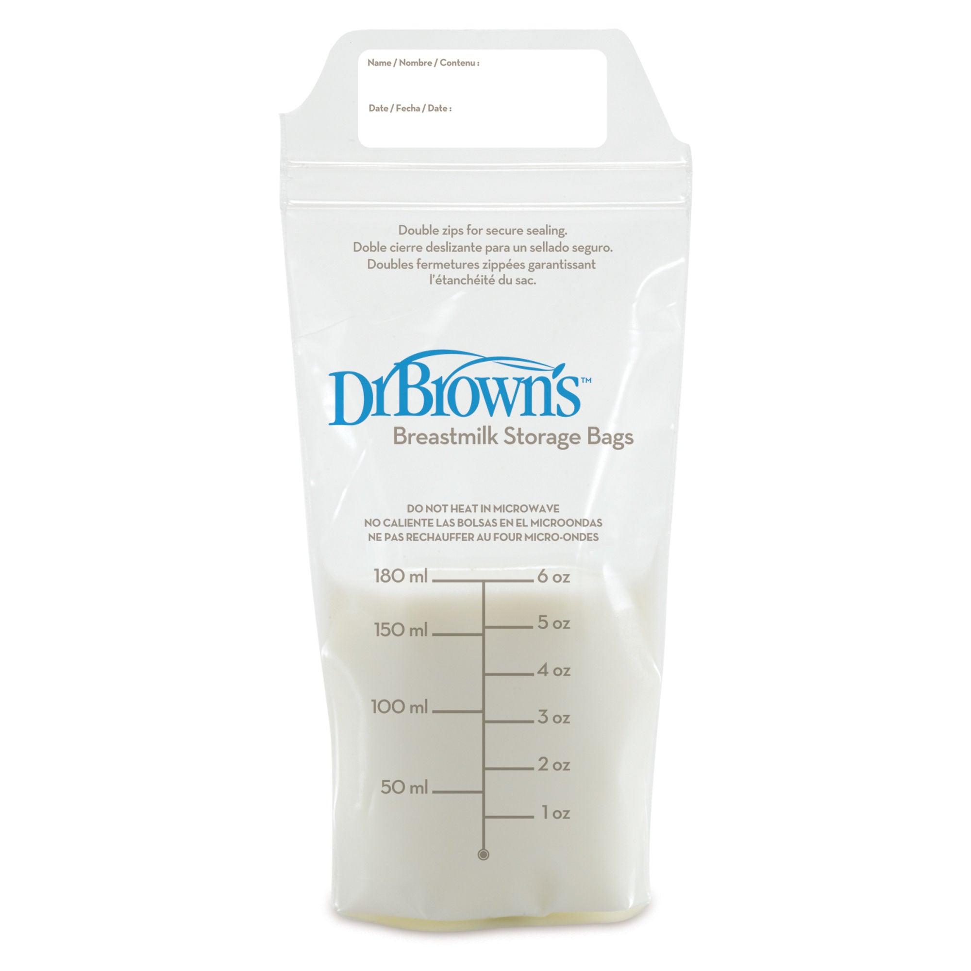Dr. Browns Förvaringspåse Bröstmjölk 25-pack