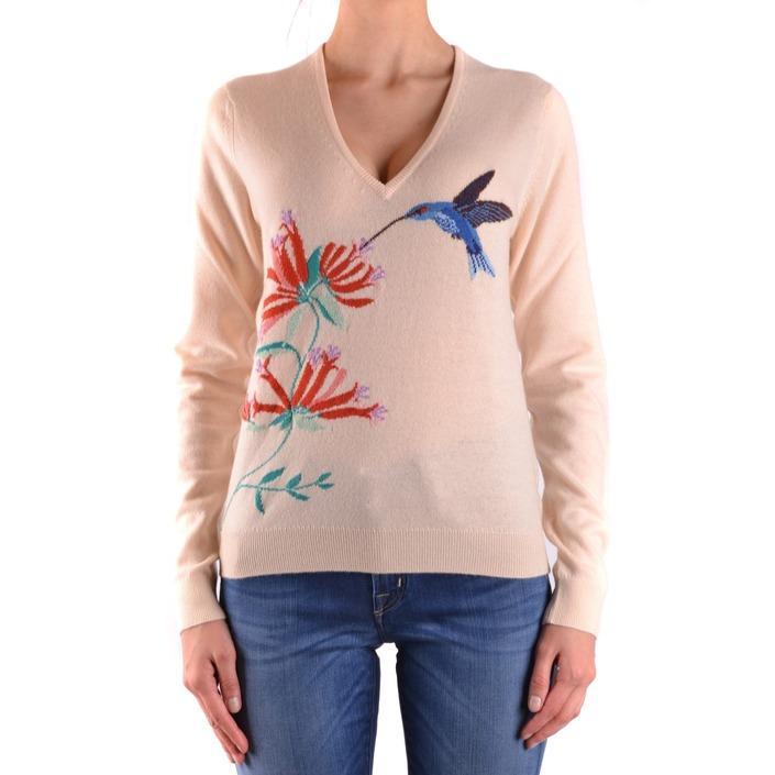 Ballantyne Women's Sweater White 160843 - white 42