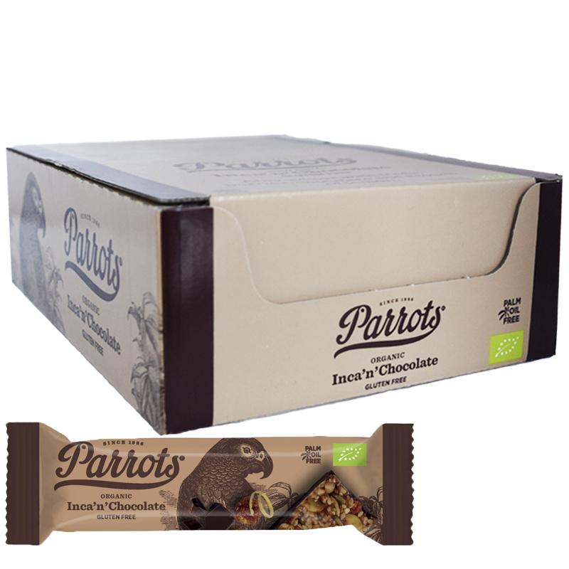 """Laatikollinen """"Inca & Chocolate"""" Patukoita 20 x 50g - 75% alennus"""