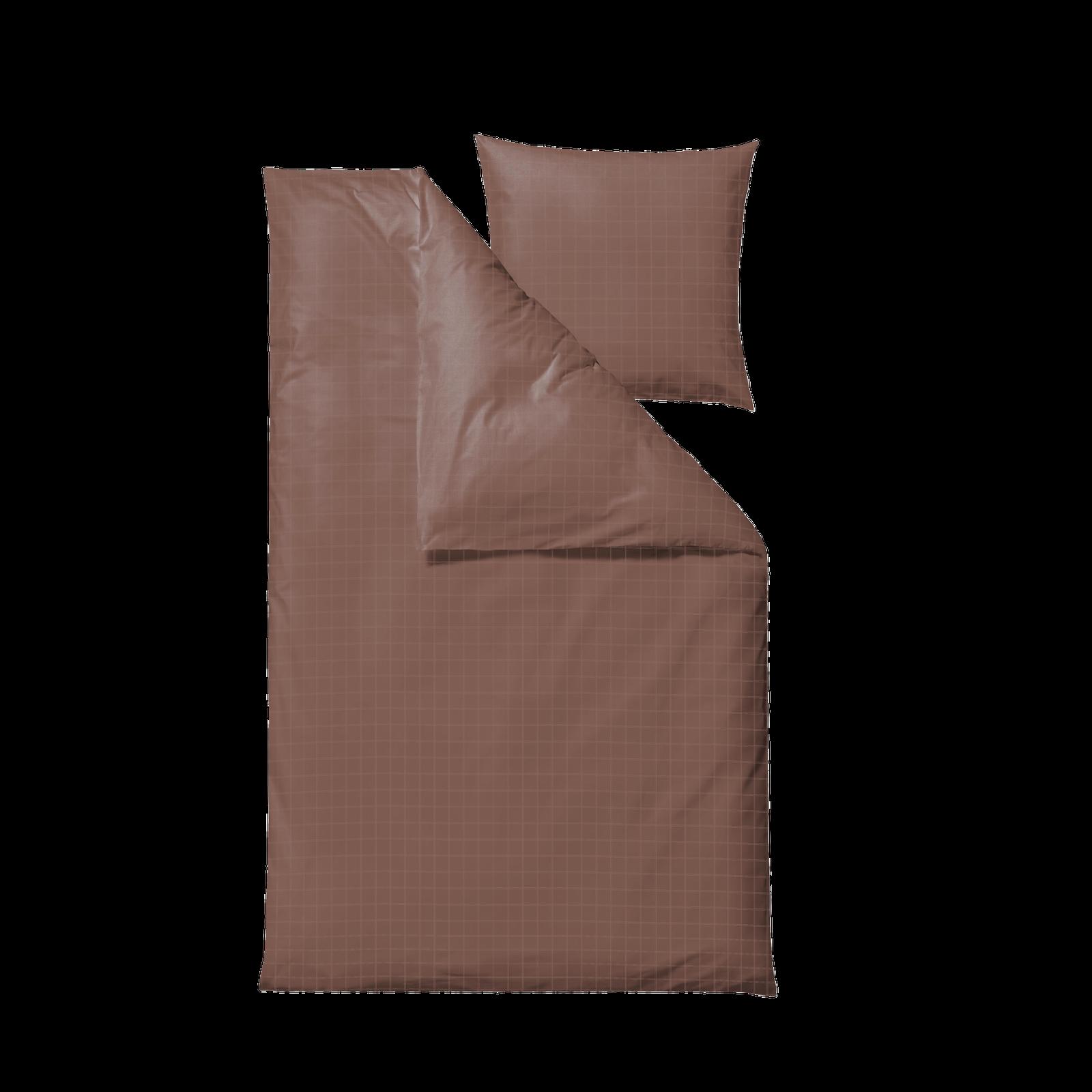 Södahl - Clear Bedding Sets 140 x 200 cm - Rosewood (12035)