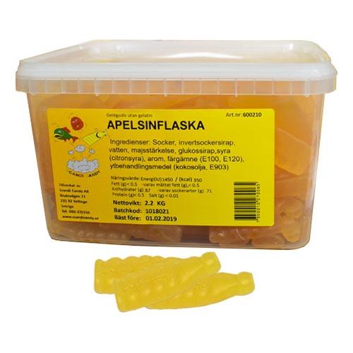 Apelsinflaskor Lösvikt i Burk - 2,2 kg