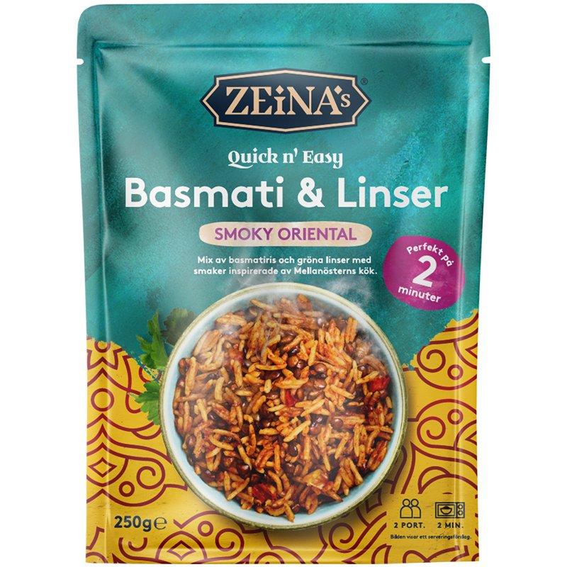 Basmati & Linser Smoky Quick n' Easy - 15% rabatt