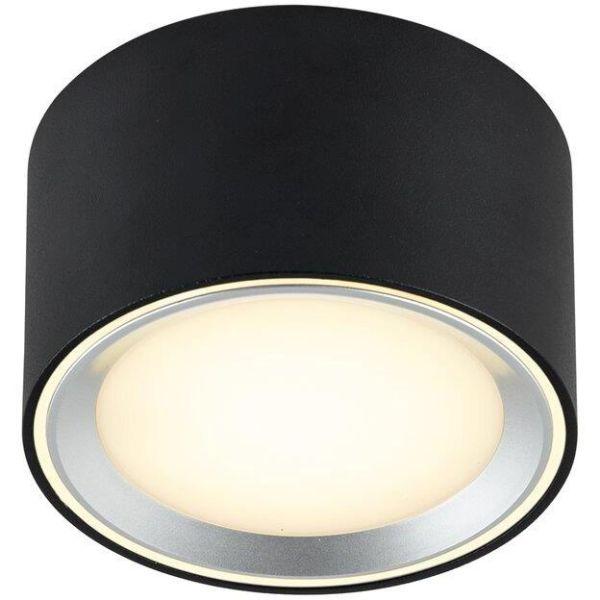 Nordlux FALLON 47540103 Kohdevalaisin LED, 2700K, IP20 Musta