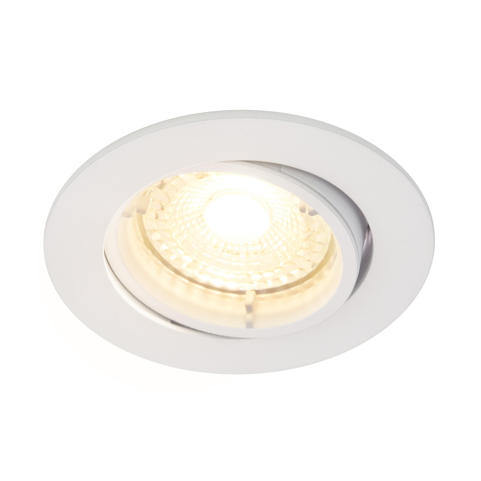 Carina-LED-kohdevalo, 2700K dim tilt, valkoinen