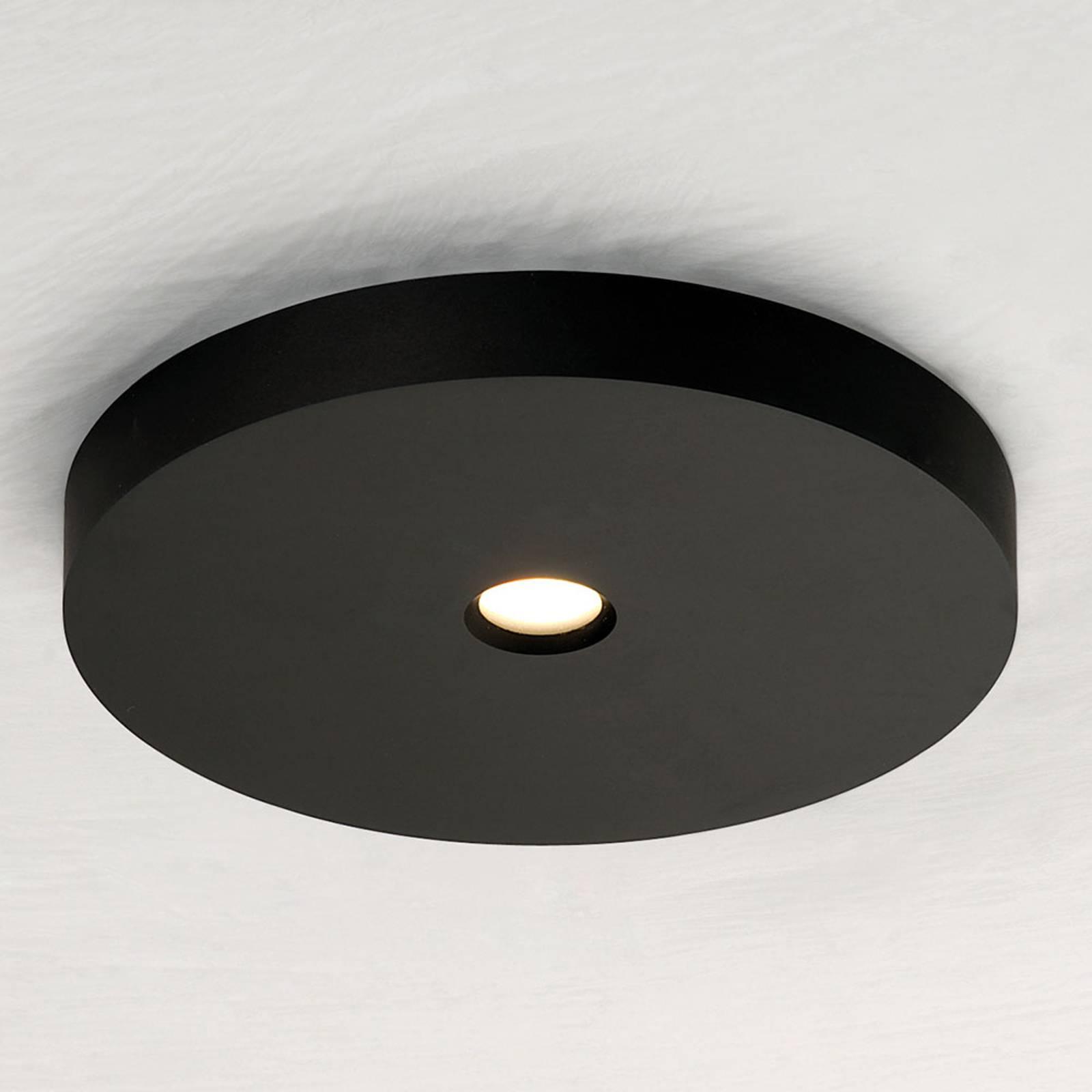 Bopp Close LED-kattovalaisin, musta