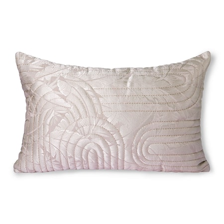 Quilted Cushion Nude/rosé 40x60 cm