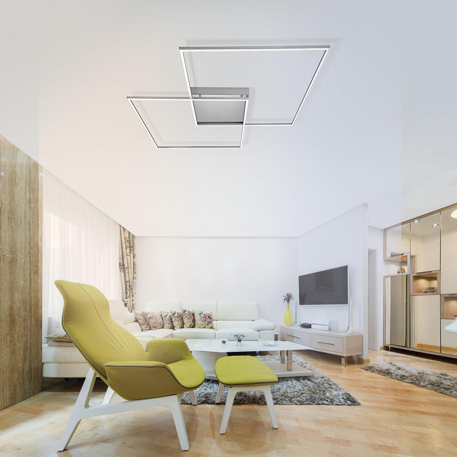 Inigo - LED-taklampe med fjernkontr. 68 cm