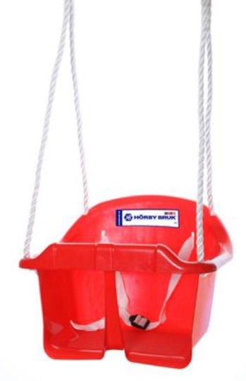 Hörby Bruk Babyhuske, Rød