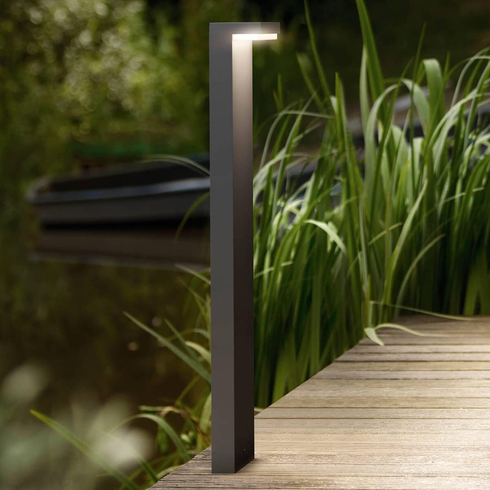 Bustan L-formet LED veilampe av aluminium