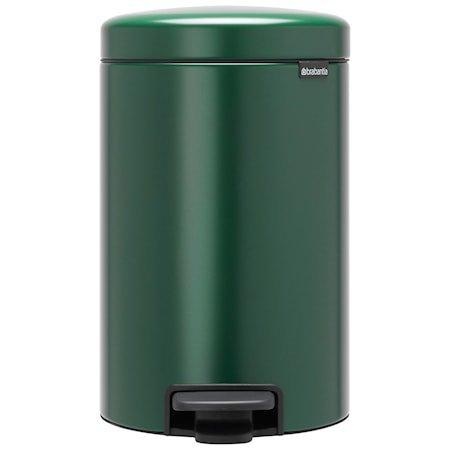 NewIcon Pedalbøtte Pine Green 12 liter