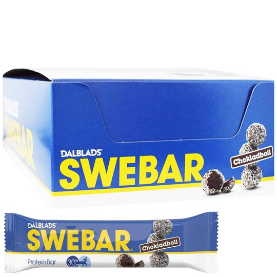 Proteinbars Chokladboll 20-pack - 40% rabatt