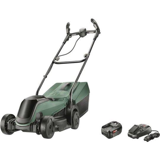 Bosch DIY Citymower 18-300 Ruohonleikkuri 4,0Ah akulla ja laturilla
