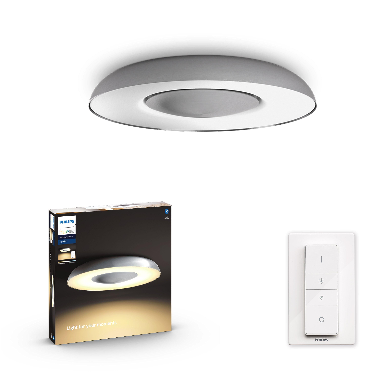 Philips Hue - Still Hue Ceiling Lamp Aluminium 1x32W - White Ambiance