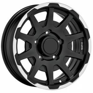 Sparco Dakar Black 5.5x16 5/139.7 ET5 B108.3