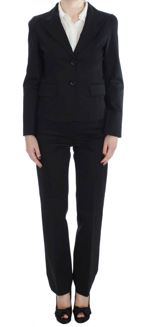 BENCIVENGA Women's Cotton Stretch Suit Black SIG30904 - XL