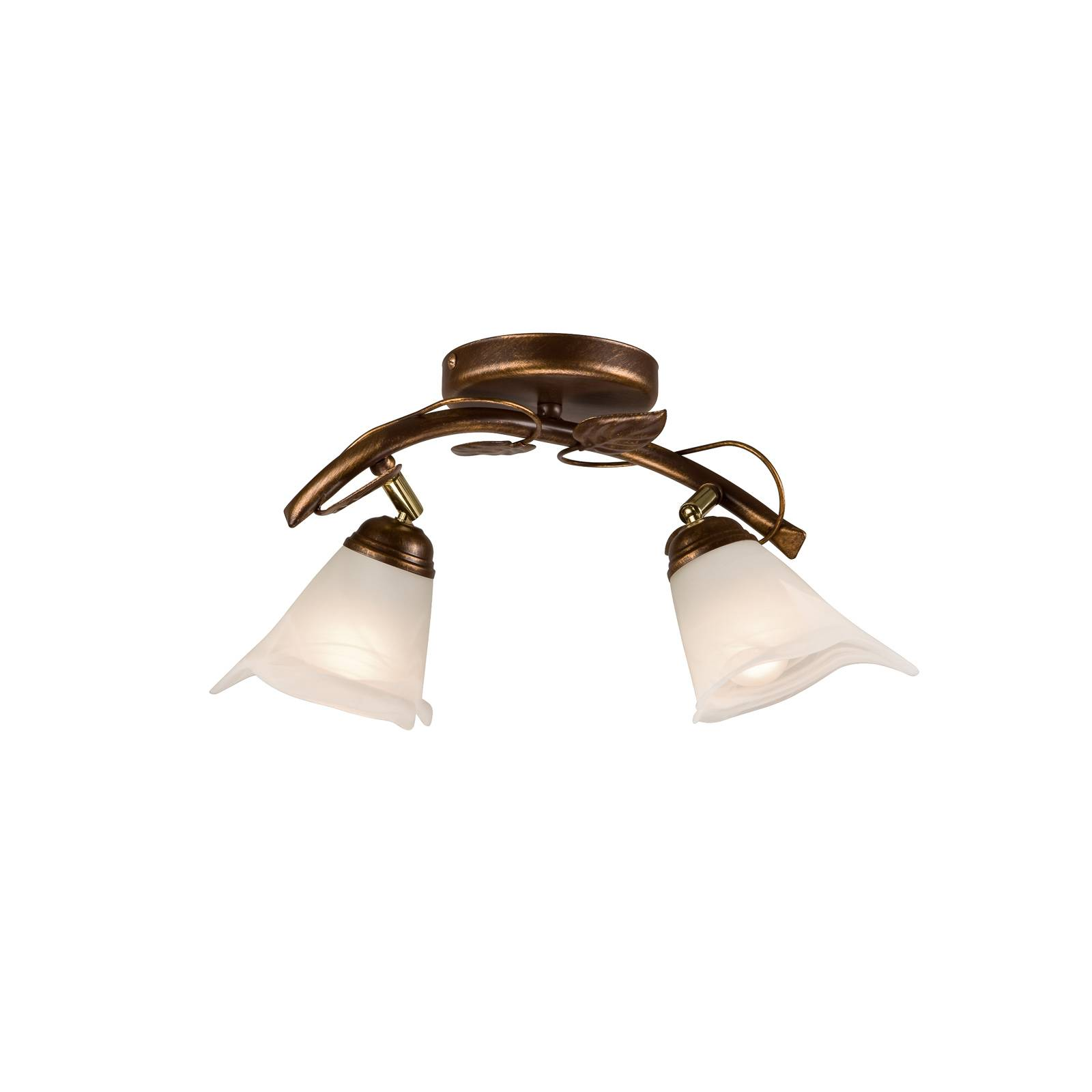 Kattolamppu Siena firenzeläistyyliä, 2-lamppuinen