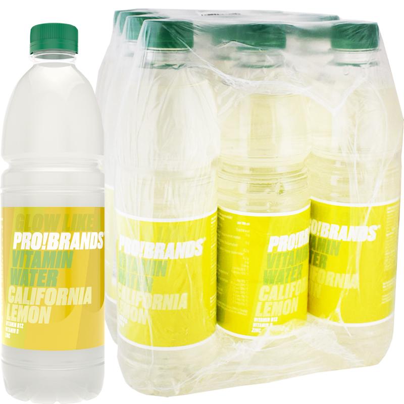 Vitaminvatten California Lemon 12-pack - 49% rabatt