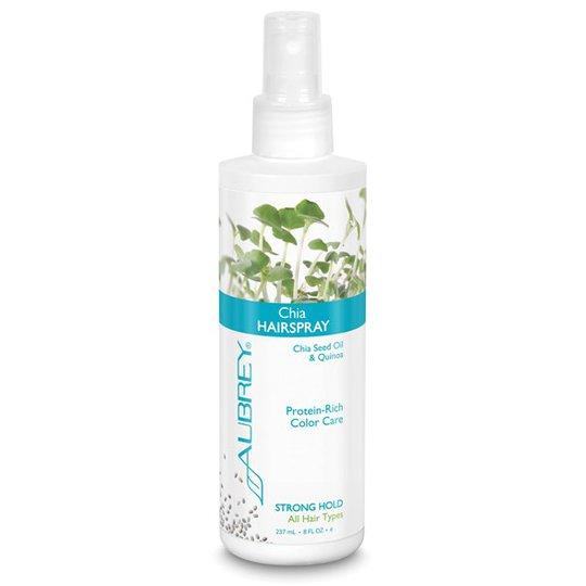 Aubrey Organics Chia Hairspray Strong Hold, 237 ml