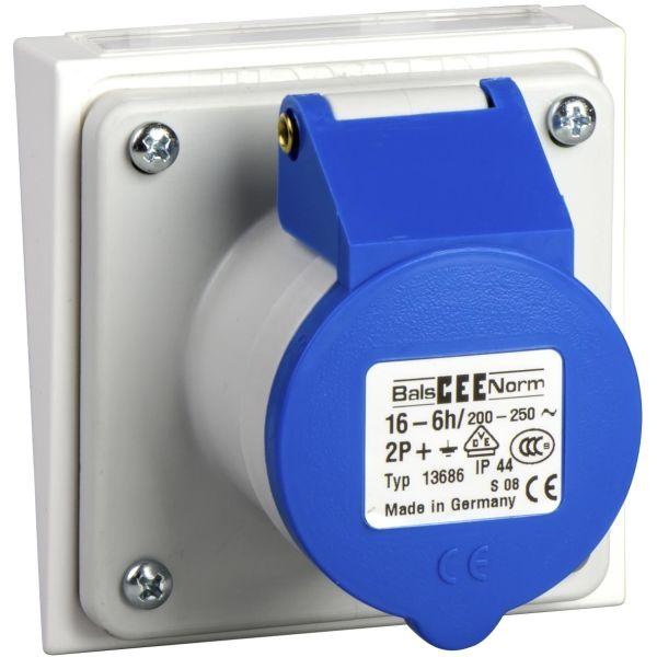 Schneider Electric 5960110 Pistorasia 3-napainen, sininen