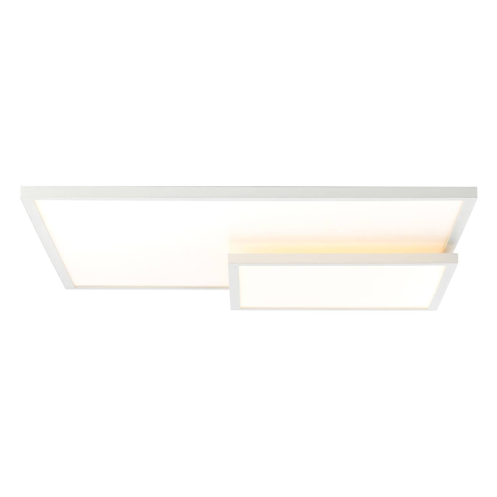 LED-kattovalaisin, pituus 62 cm, valkoinen kehys