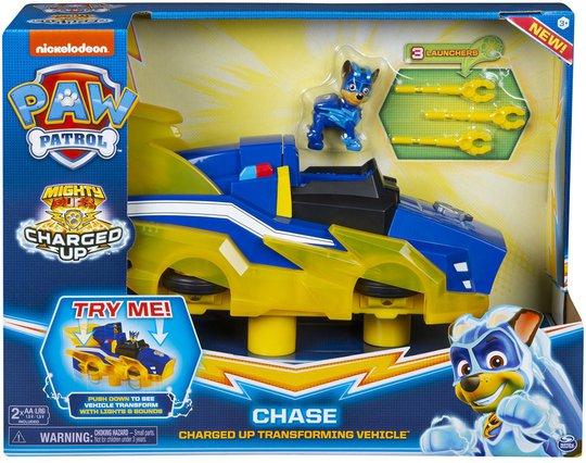 Paw Patrol Figur Med Kjøretøy Chase