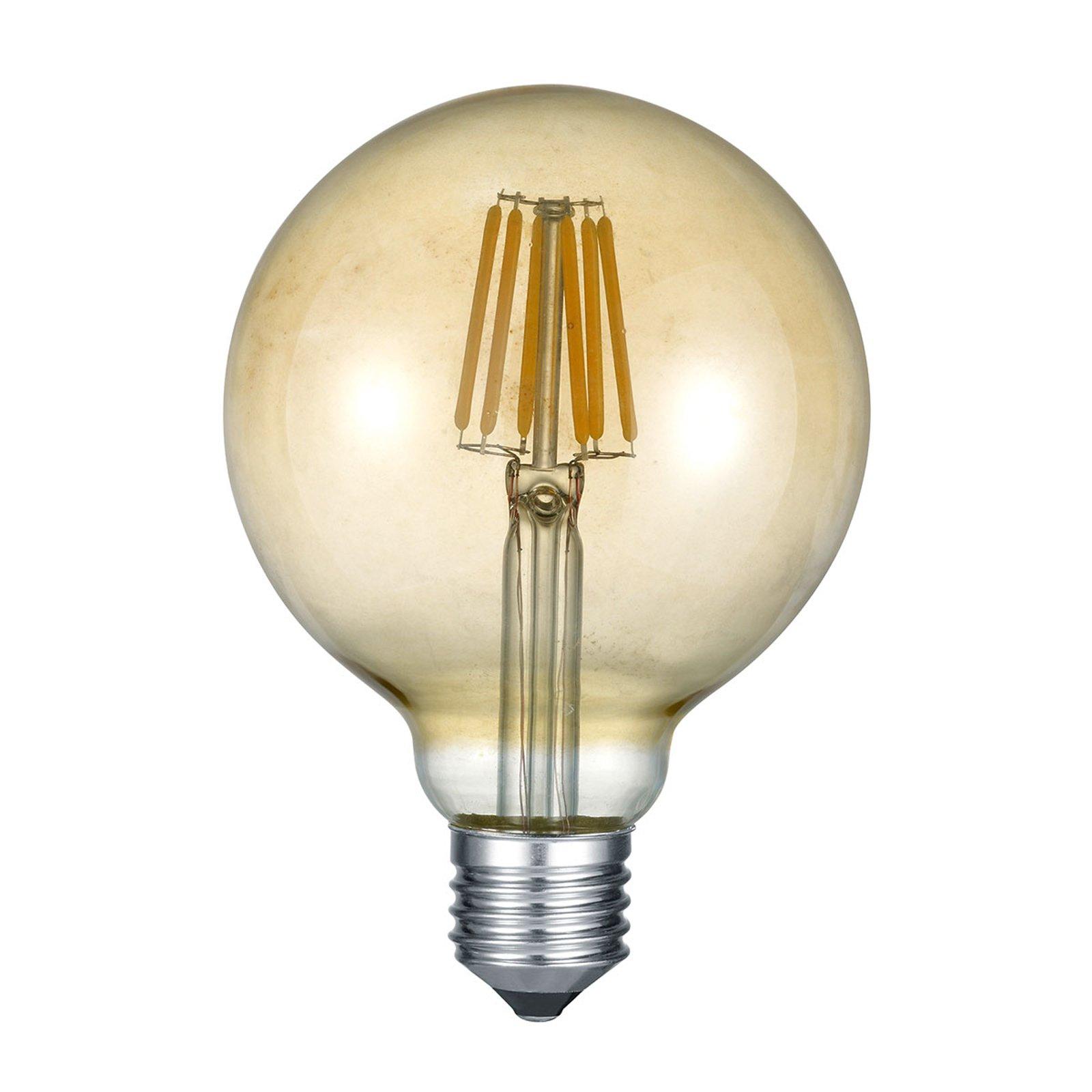 LED-globepære E27 6 W 2 700 K rav