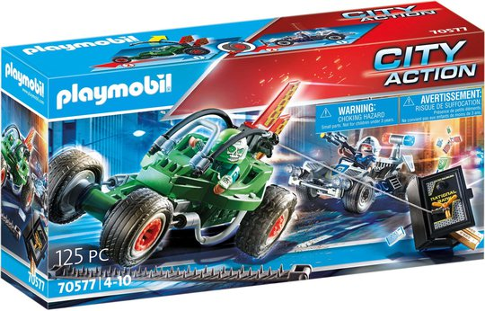 Playmobil 70577 Politikart: Jakt På Safetyv