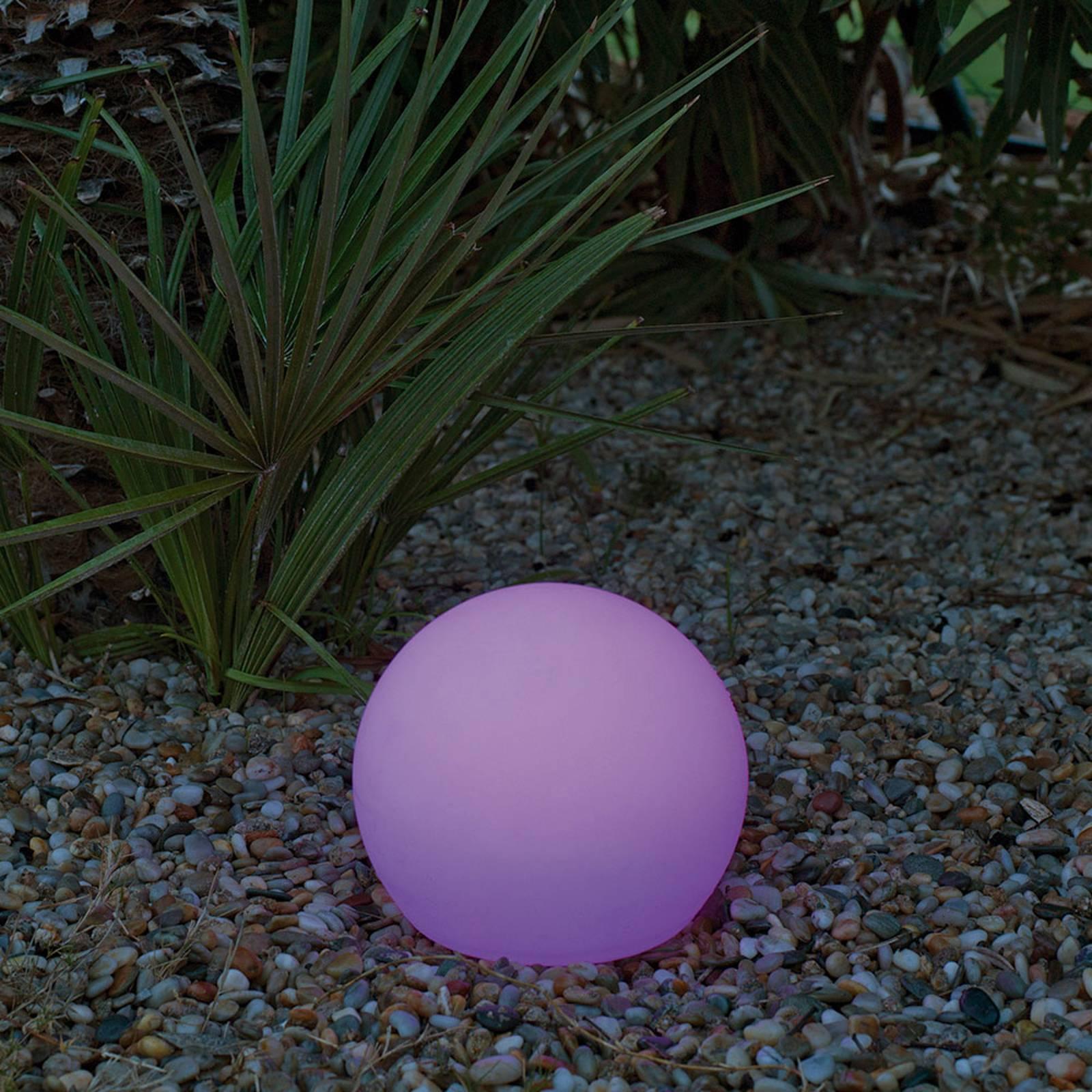 Newgarden Buly -LED-aurinkovalaisin, IP68, Ø 40 cm