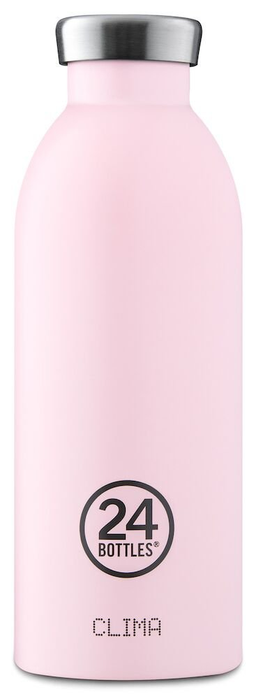 24 Bottles - Clima Bottle 0,5 L - Candy Pink (24B144)