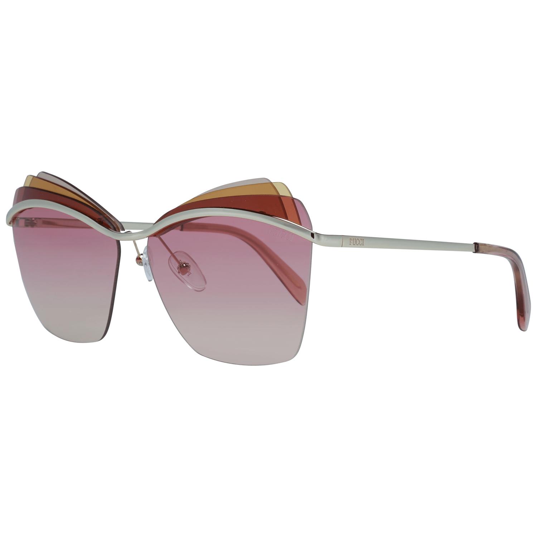 Emilio Pucci Women's Sunglasses Gold EP0113 6128T