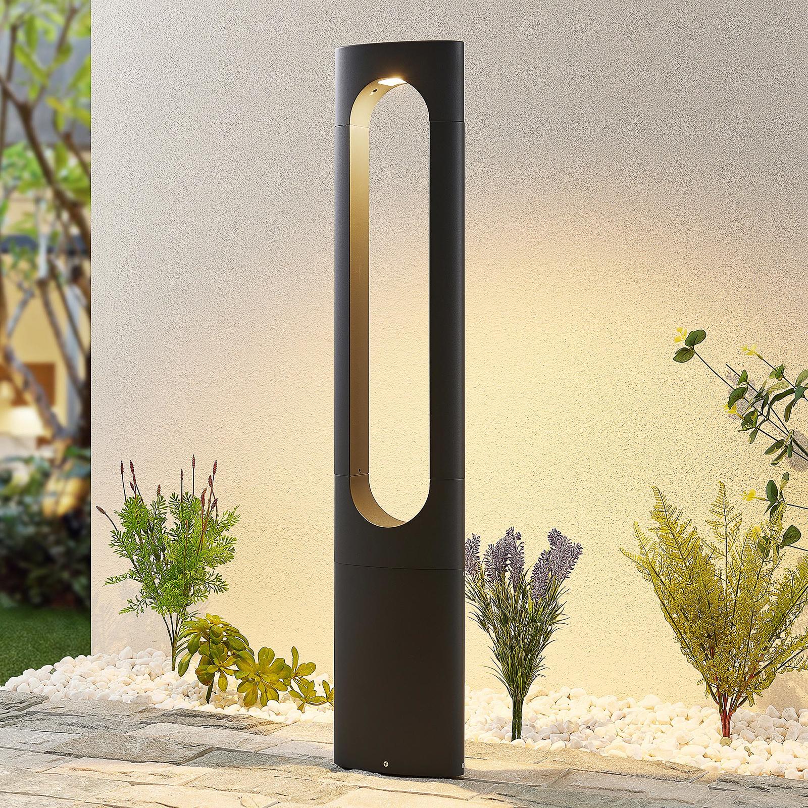Lucande Fenti -LED-pylväsvalaisin, 90 cm