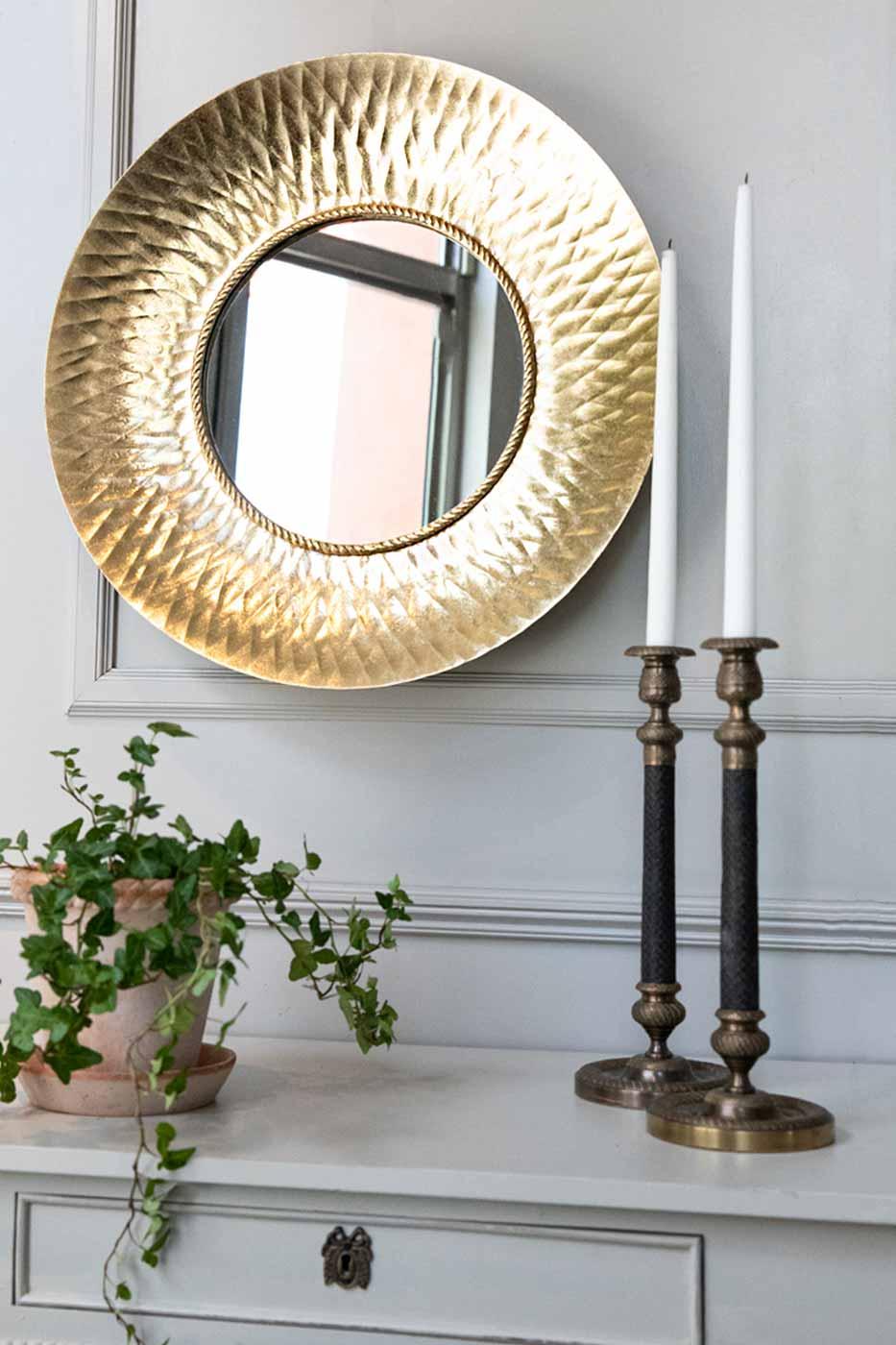 Spegel Verdi 60 cm guld