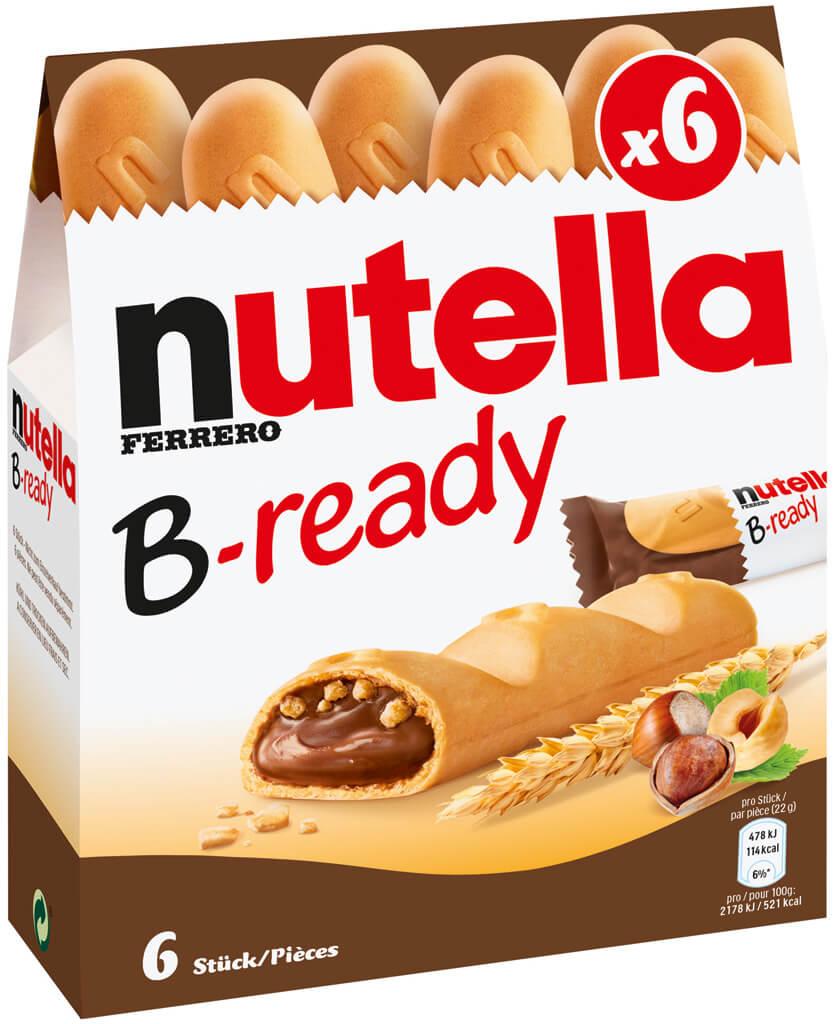Nutella B-Ready 6-pack