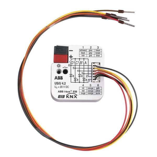 ABB GHQ6310070R0111 I/O-yksikkö KNX-yksikkö, 4 kanavaa