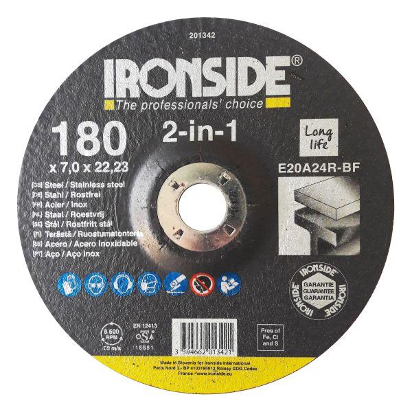 Ironside 201342 Navrondell F27, 2-in-1 180 x 7 x 22 mm