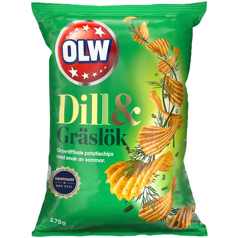 Chips Dill & Gräslök - 23% rabatt