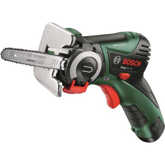 Bosch DIY Easy Cut 12 Moottorisaha 2,5 Ah akulla ja laturilla