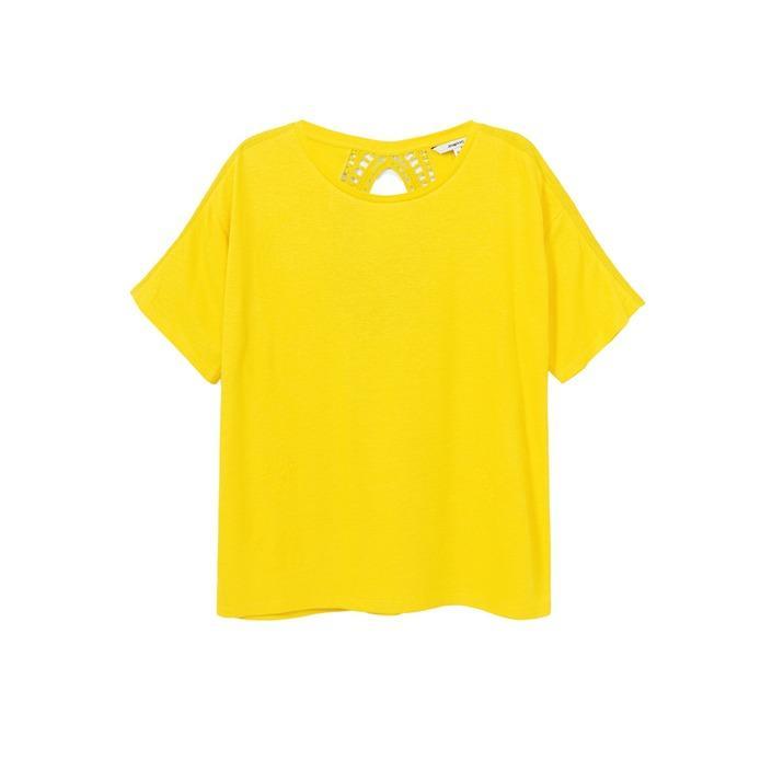 Desigual Women's T-Shirt Various Colours 263185 - yellow S