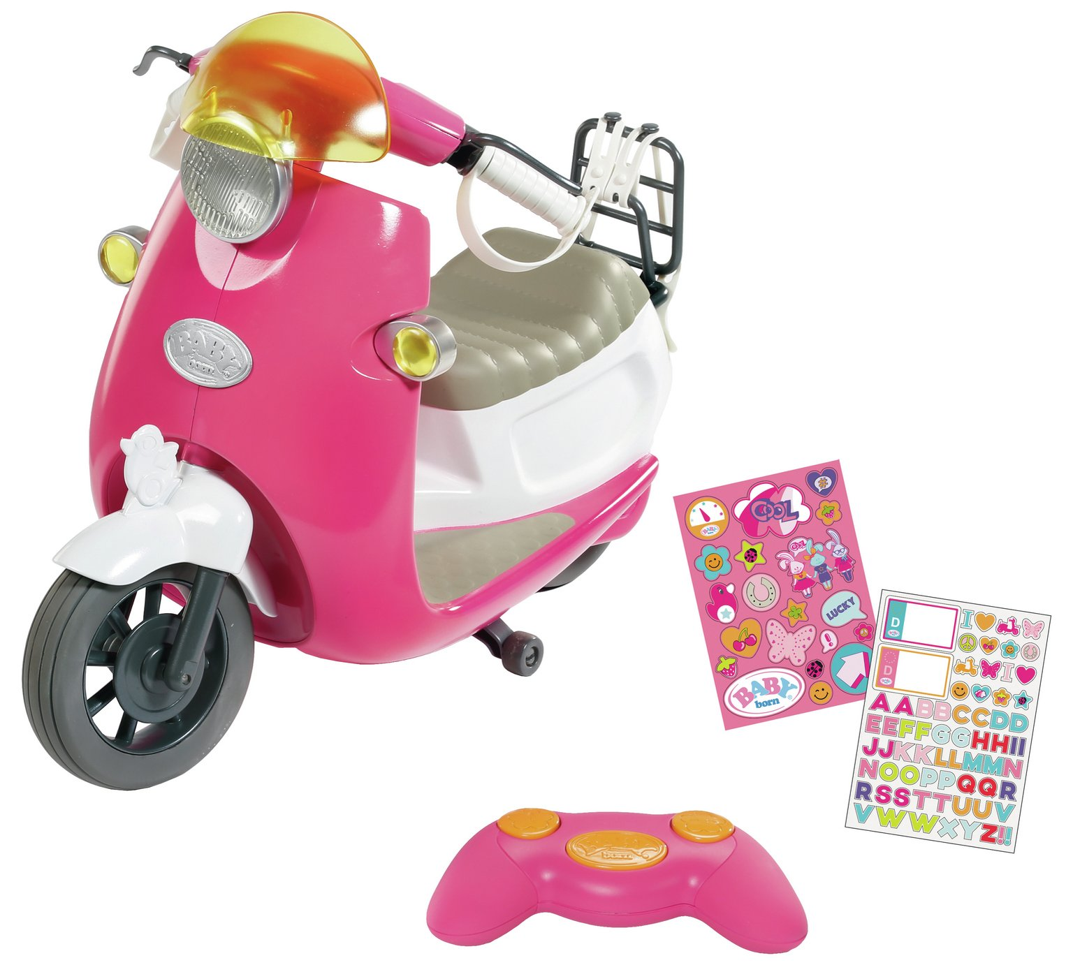 Baby Born - Play&Fun RC Scooter (824771)