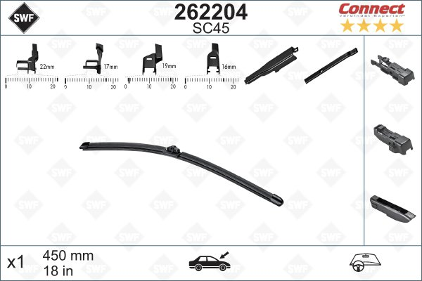Flatblade SC45 450