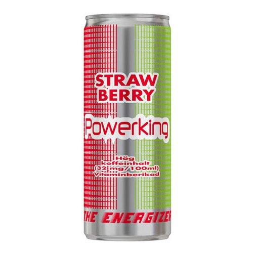 Powerking Energy Strawberry - 1-pack