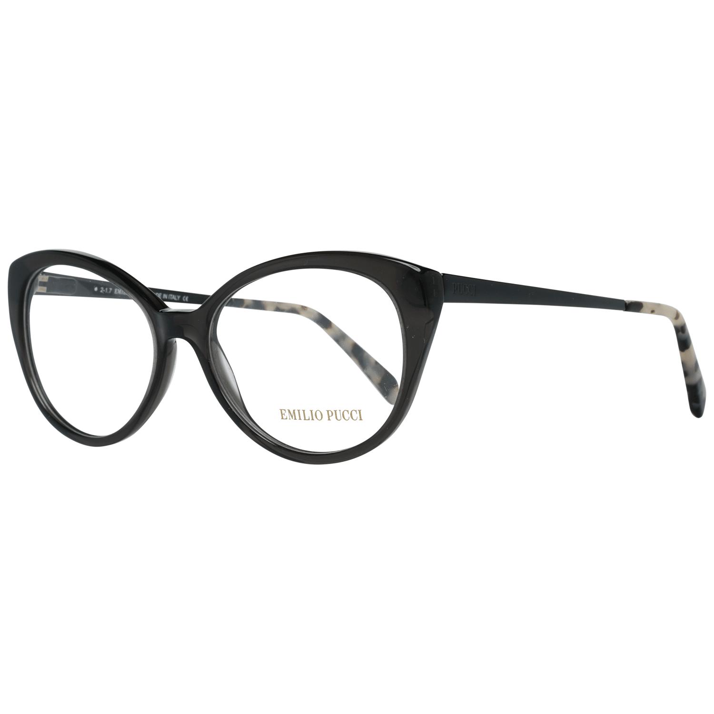 Emilio Pucci Women's Optical Frames Eyewear Black EP5063 53005