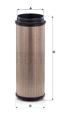 Toisioilmasuodatin MANN-FILTER CF 21 160/1