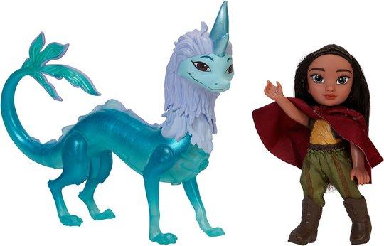 Disney Raya Dukke Liten med Dragen Sisu