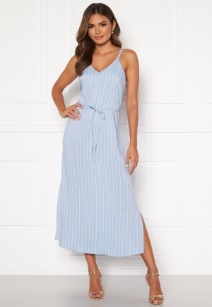 Happy Holly Annabelle dress Light blue / Striped 44/46