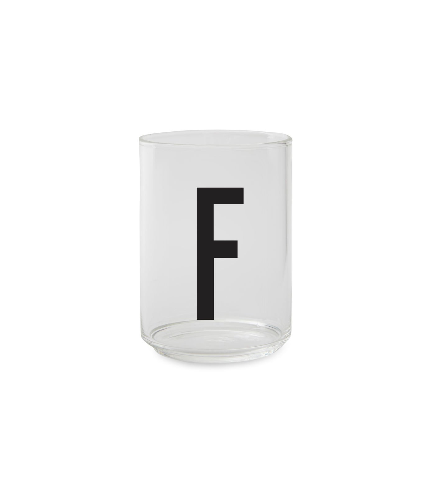 Design Letters - Personal Drinking Glass F