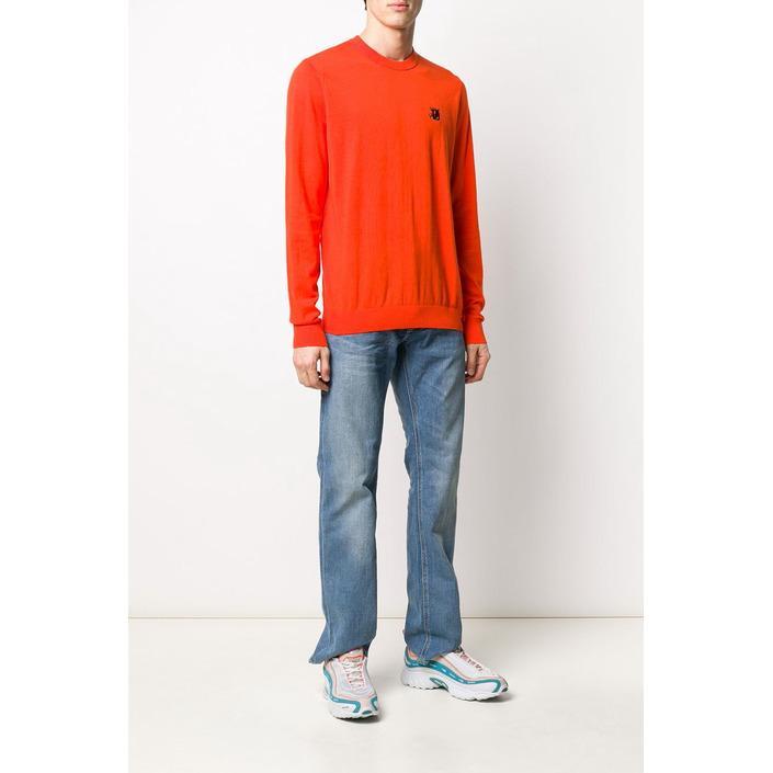 Diesel Men's Sweatshirt Various Colours 312534 - orange L