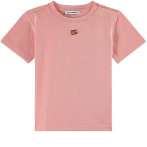 Dolce & Gabbana Logo T-shirt Rosa 9-12 mån