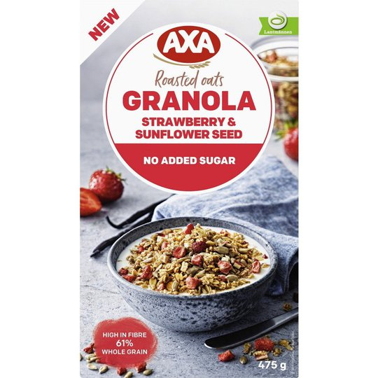 Granola Strawberry & Sunflower Seed - 12% rabatt